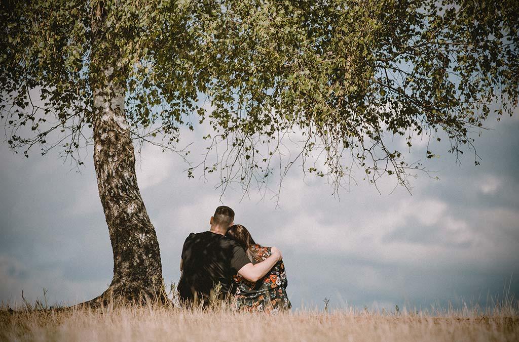 Paarfotoshooting auf der Trupbacher Heide in Siegen