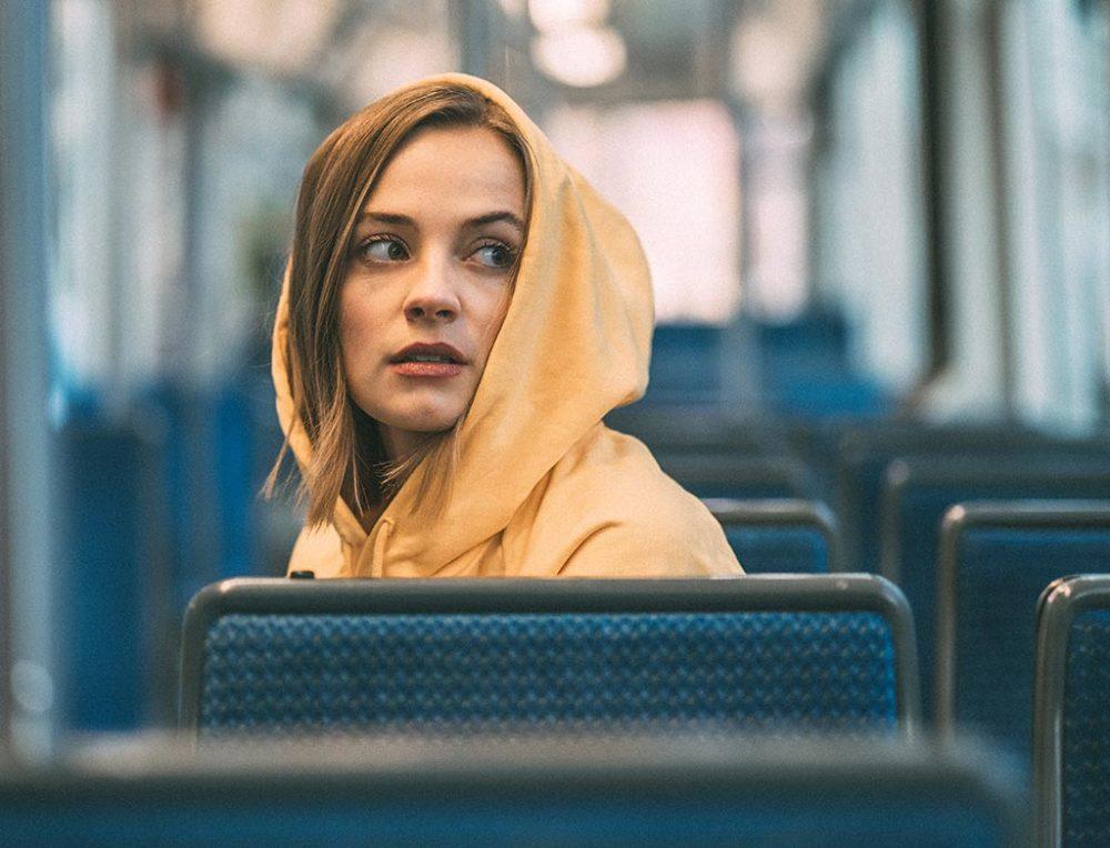 Portraitfotografie im Bus