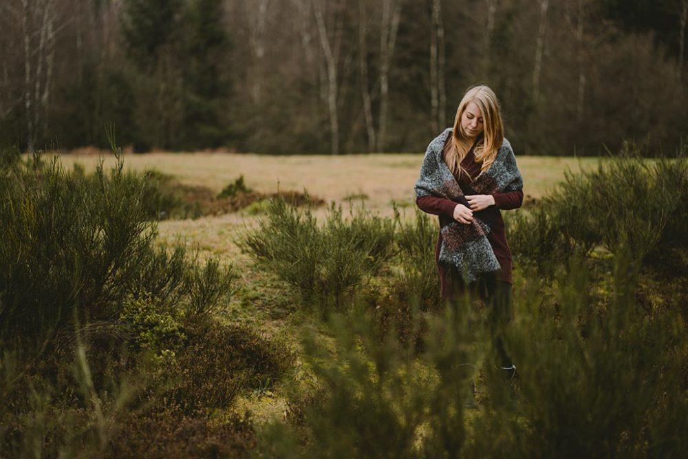 Fotoshooting auf der Trupbacher Heide