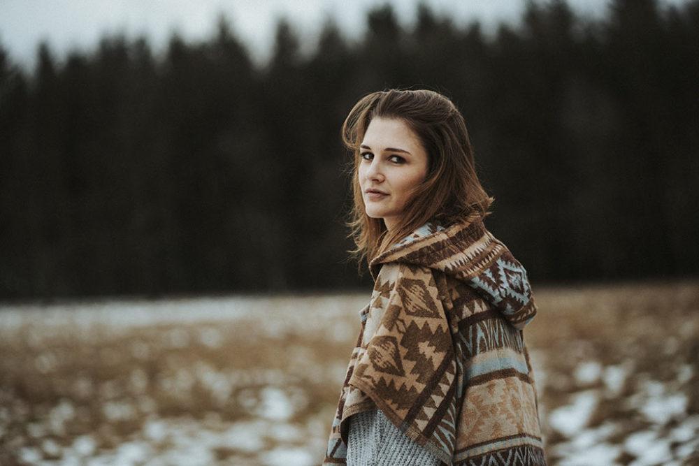 Portraitshooting in Siegen outdoor Wintershooting