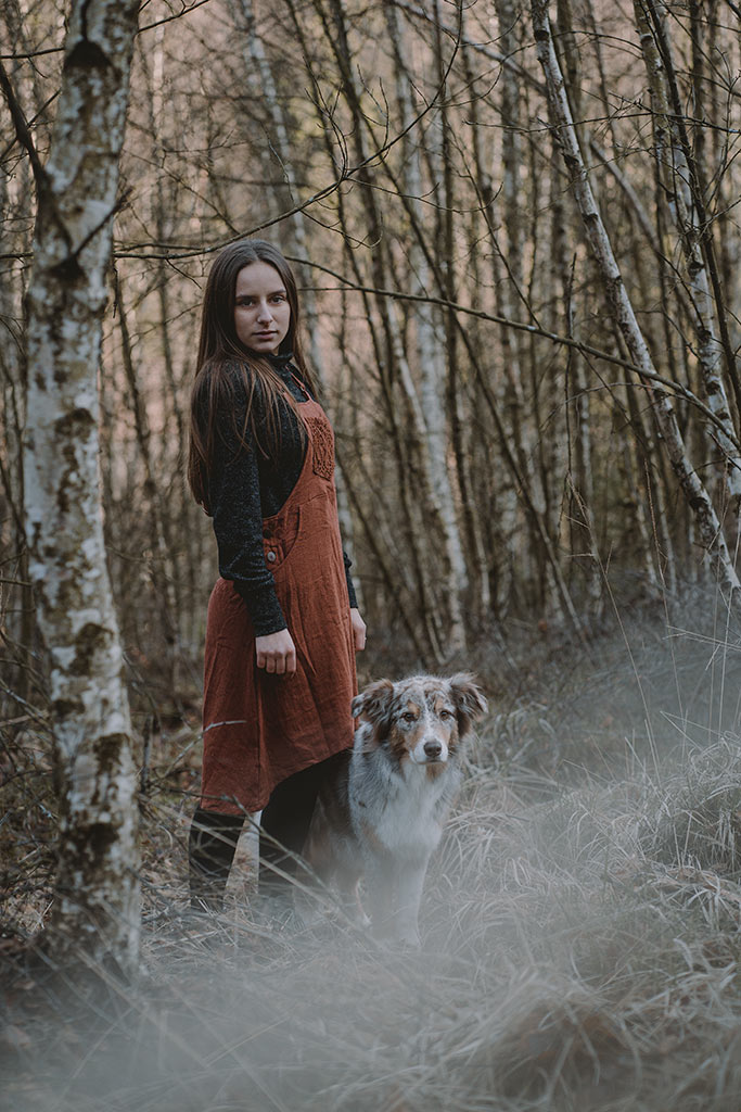 Fotoshooting mit Hund Tierfotografie