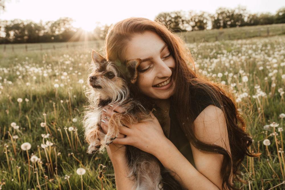 Fotoshooting mit Hund in Siegen