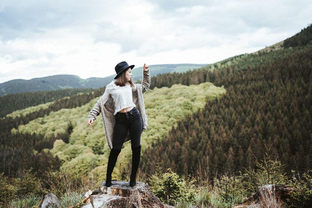 Portraitfotografie in Siegen Waldlandschaft