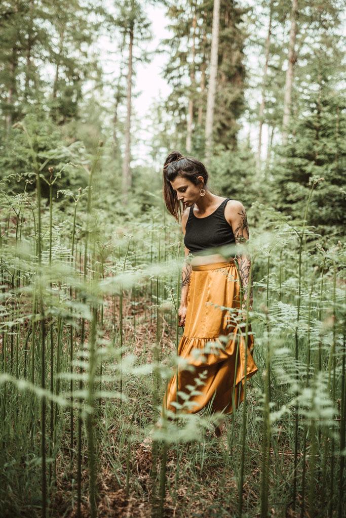 Waldshooting im Farn Fotografin in Siegen