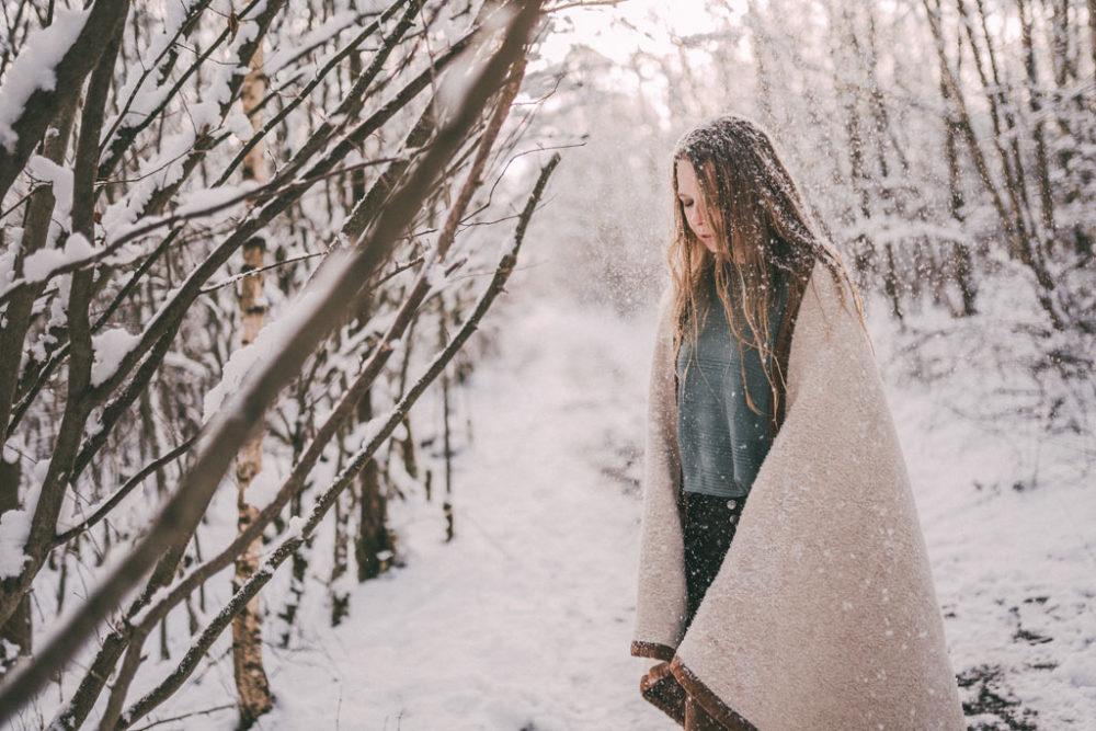Schneeshooting in Siegen Fotoshooting