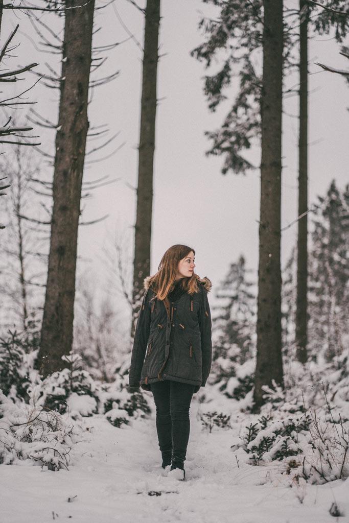 Wintershooting in Siegen Schneeshooting