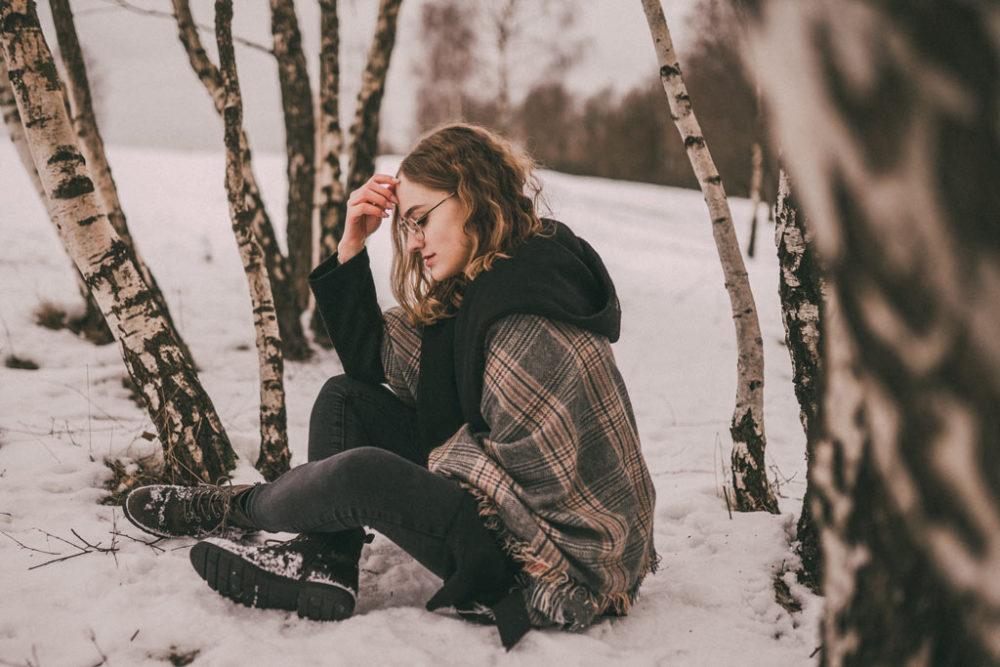 Portraitfotograf in Siegen Fotoshooting im Schnee