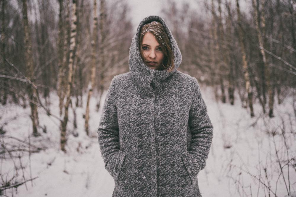 Portraitfotografie in Siegen Schneeshooting