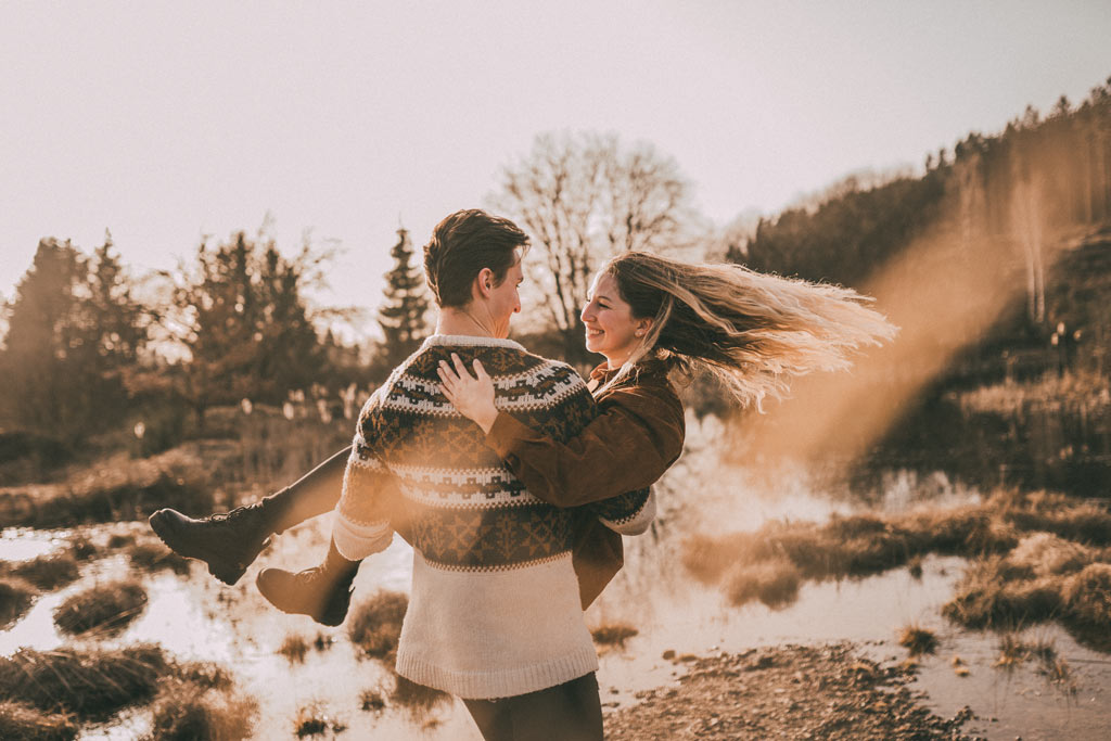 Paarfotografie in Siegen Coupleshoot