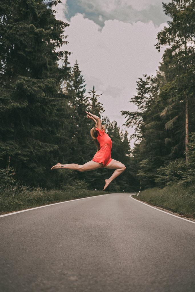 Fotoshootings Tanzshooting Sprung