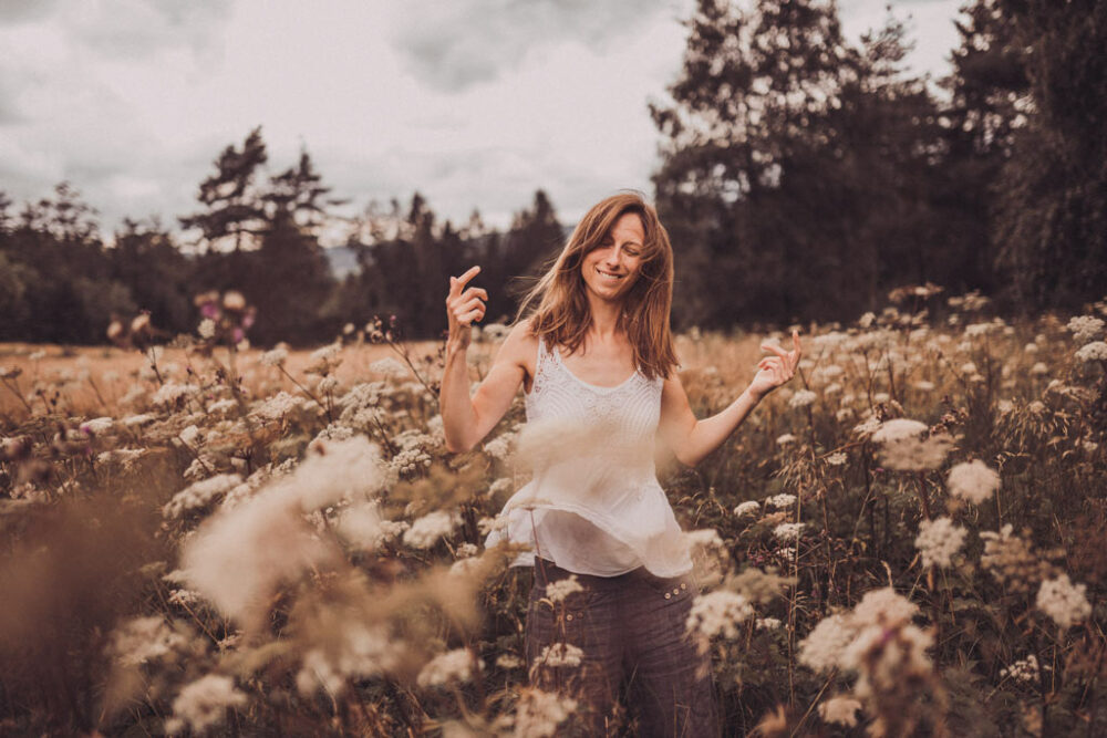 Fotograf in Siegen tanzende Frau